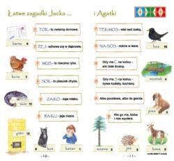 Łatwe zagadki Jacka i Agatki 2, strony