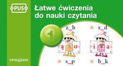 Łatwe ćwiczenia do nauki czytania 1, PUS