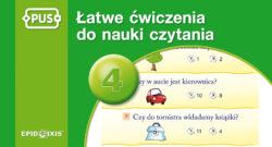 Łatwe ćwiczenia do nauki czytania 4, PUS