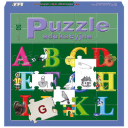 Puzzle. Od litery