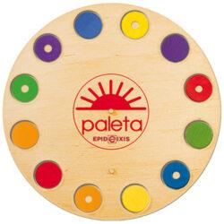 System Edukacji PALETA, tarcza zestaw kontrolny