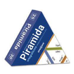 Piramida ortograficzna P1, układanka edukacyjna, zasady oisowni