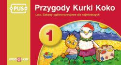 Przygody Kurki Koko 1, lato, zabawy ogólnorozwojowe dla najmłodszych, PUS