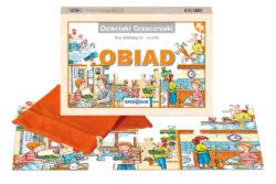 Dzieciaki Grzeczniaki, dom, gra edukacyjna, puzzle