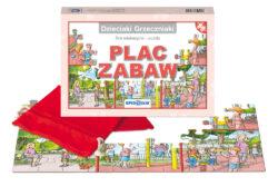 Dzieciaki Grzeczniaki, plac zabaw, gra edukacyjna, puzzle