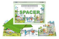Dzieciaki Grzeczniaki, spacer, gra edukacyjna, puzzle