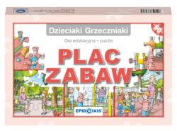 Dzieciaki Grzeczniaki - plac zabaw, gra edukacyjna, puzzle