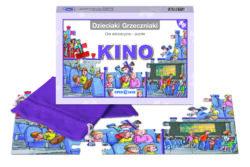 Dzieciaki Grzeczniaki, kino, gra edukacyjna – puzzle