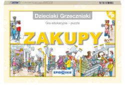 Dzieciaki Grzeczniaki – zakupy, gra edukacyjna, puzzle