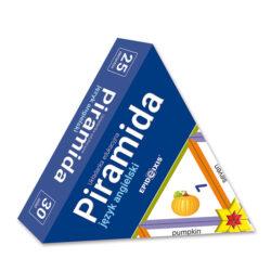 Piramida język angielski JA1, ukladanka edukacyjna