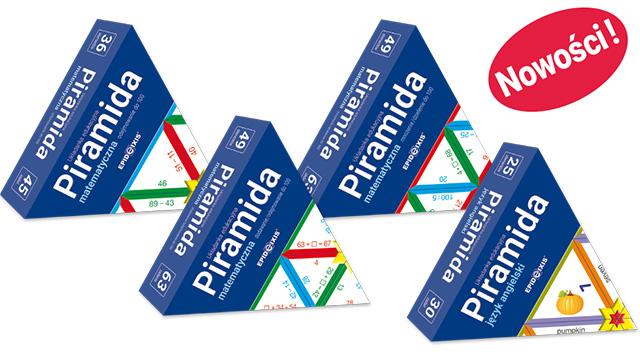 Grupa piramid powiększa się aż o 4 nowe tytuły