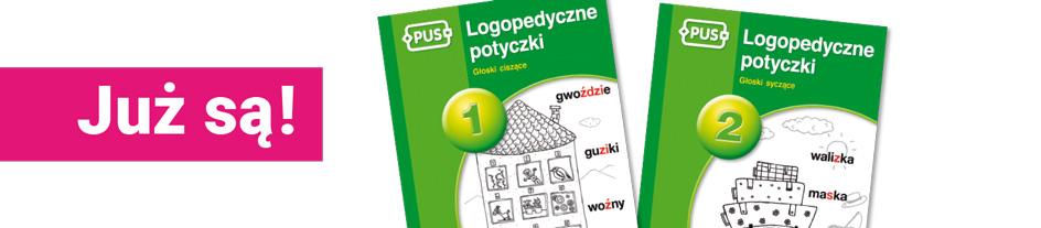 Logopedyczne potyczki 1 i 2_baner