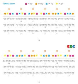 Sylabowe potyczki 2, strony, PUS