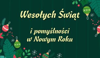 Nadchodzi czas świątecznych życzeń