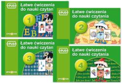PUS, Łatwe ćwiczenia do nauki czytania_ 1-4
