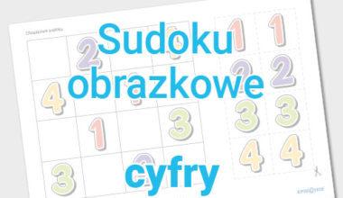 Obrazkowe sudoku – cyfry
