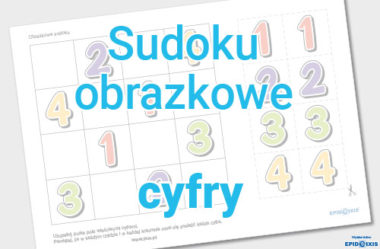 Obrazkowe sudoku - cyfry1